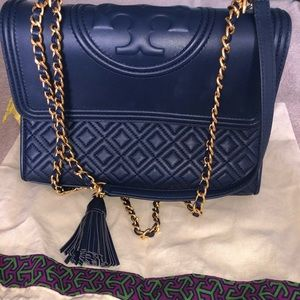 Brand new never used Tory Burch purse